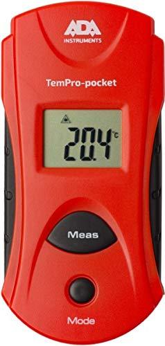 ADA Termómetro infrarrojo TemPro-Pocket, Escáner de temperatura infrarrojo compacto sin contacto de alta precisión, con pantalla LCD