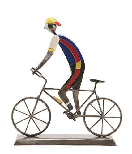 MOUNTAIN BIKE SCULPTURE SMALL by Felguerez Metalwork covered with Paper Mache