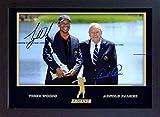 SGH SERVICES Gerahmtes Poster Tiger Woods Arnold Palmer mit