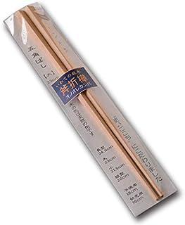 プラム工芸 岩手 オノオレカンバ(斧折樺) 五角箸(大) 木製おはし (23cm)