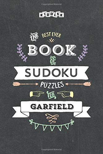 The Best Ever Book of Sudoku Puzzles for Garfield