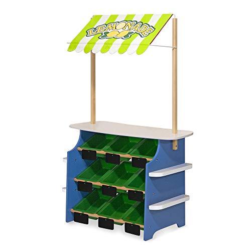 Melissa & Doug 14070 Grocery Store/Lemonade Stand Einkaufsladen/LimonadenstandausHolz, Mehrfarbig, 127 cm H x 41.275 cm W x 81.28 cm L
