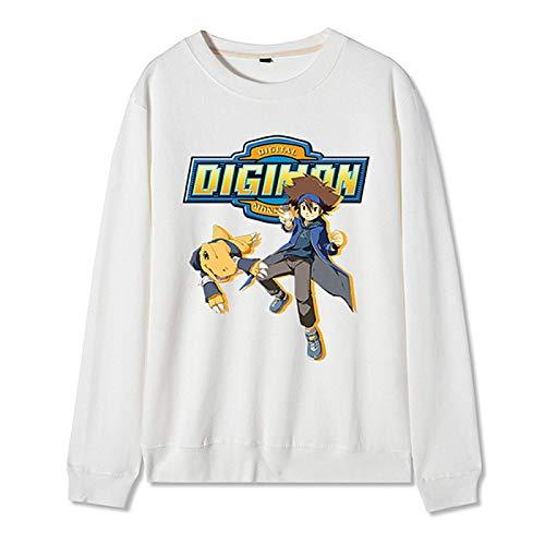 Anime 2020 Digimon Adventure Winter Hoodie Cosplay Disfraz Halloween Regalo de Cumplea?os para Mujeres Hombre Estilo Completo
