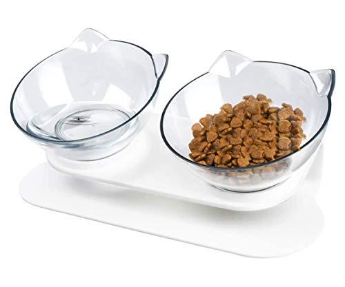 DKPlus ペットボウル 猫 フードボウル 猫 えさ 皿 小型犬用 食器 ダイニング フードボール ペット食器