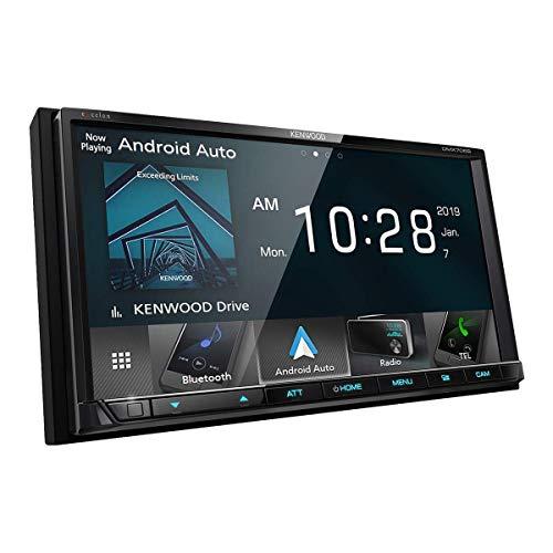 Kenwood DMX706S Digital Media Receiver with Wired CarPlay (Renewed)