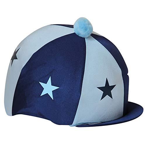 CAPZ Tapa Cubierta Starz, Unisex Adulto, Azul Marino/Azul Claro, Estándar