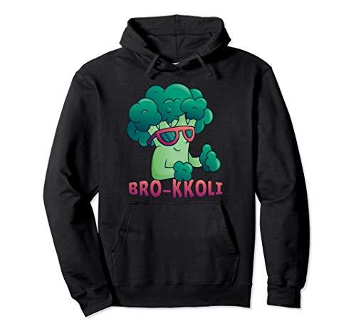 Brokkoli BRO-KKOLI Team Brokkoli Go Vegan Geschenk Pullover Hoodie