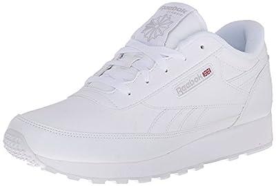 Reebok Women's Classic Renaissance Sneaker, White/Steel, 6.5 M US