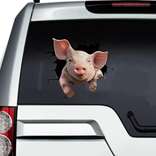 WUSOP Animal Crack Car Sticke,12 x 12 inch Car...
