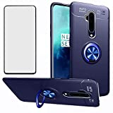 Phone Case for Oneplus 7T Pro with Tempered Glass Screen