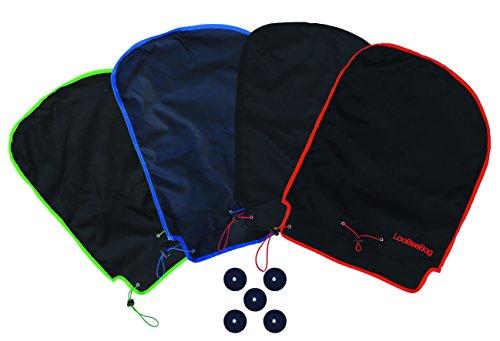 Loobeeebag - Tapa universal para bolsas de golf (azul)