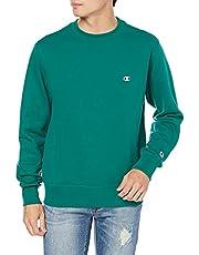 [チャンピオン] トレーナー 長袖 裏毛 綿100% 定番 クルーネック ワンポイントロゴ刺繍 クルーネックスウェットシャツ C3-Q001 メンズ
