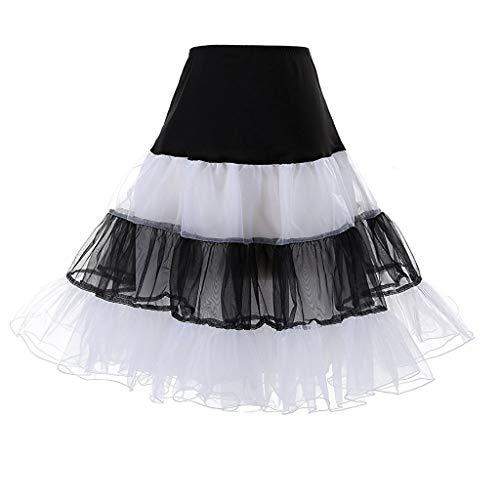 VJGOAL Tutu tule rok voor dames, carnaval, plisseerok, minirok, danskleding, baljurken, kort, onderrok, grote maten, tutu skirt voor vrouwen