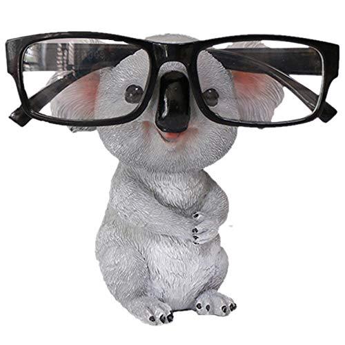 Nrpfell Koala Figuren Tier Figuren Harz Gl?Ser Stehen Bleistift Sonnen Brillen Halter Beh?Lter Desktop Haus Dekor Geschenk A