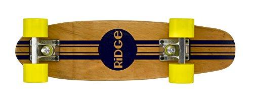 Ridge Skateboards Maple Mini Cruiser Original Skateboard, Giallo