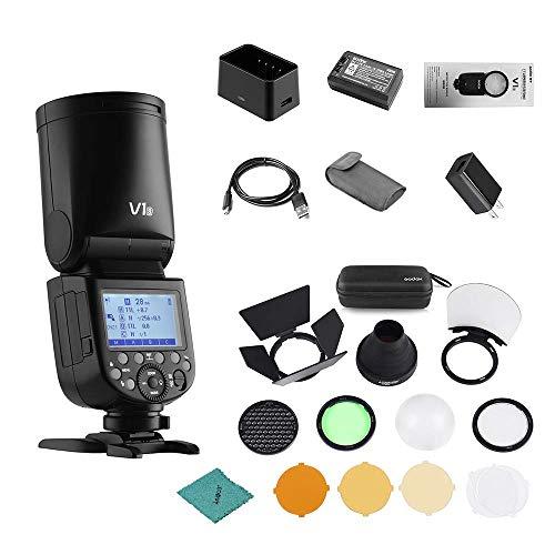 Godox V1S Flash Professional Camera Flash Speedlite Compatible with Sony a7RII a7R a58 a99 ILCE6000L a7RIII a7R3 a9...
