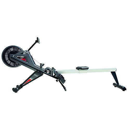 Bh Fitness Unisex's Sport Club Rowing Machines, Silver Grey, Large