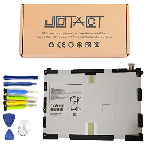 JOTACT EB-BT550ABE (3.8V 22.8W/6000mAh 2-Cell) Tablet Battery Compatible with Samsung Galaxy Tab A 9.7' SM-T550 SM-P550 SM-T555C SM-T555 SM-P351 Series Notebook EB-BT550ABA