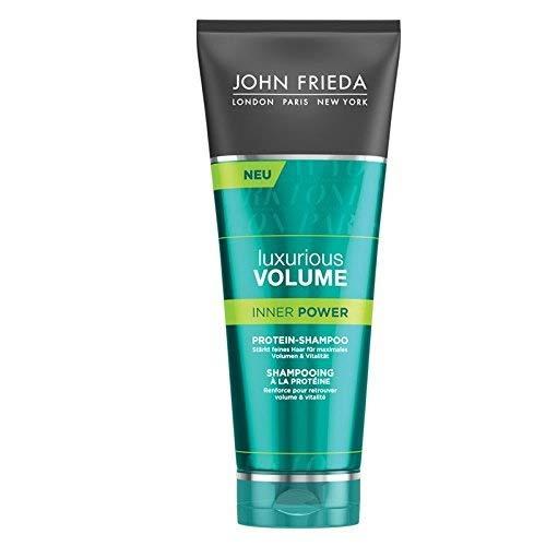 John Frieda Inner Power Protein-Shampoo - 1 x 250 ml) - met eiwit-kracht-complex - voor fijn haar