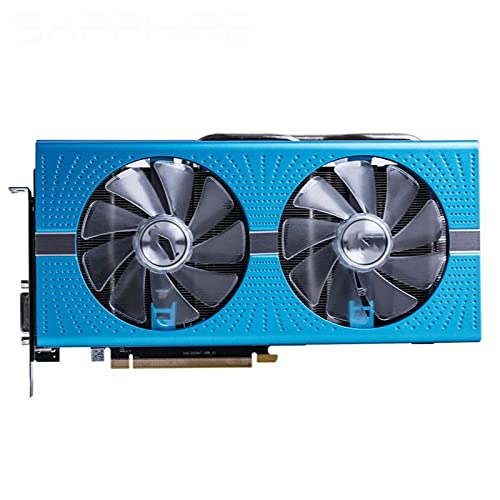 MPGIO Apto para Sapphire RX 590 8GB Tarjetas gráficas GPU Radeon RX590 GME 8GB Nitro AMD Tarjeta de Video Pantalla de PC de Escritorio Tarjeta de Video de Mapa de Juegos de computadora