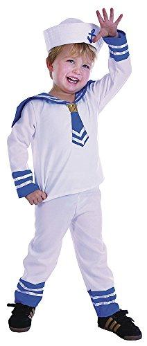 Bristol Novelty Seefahrer Kostüm für Kleinkinder