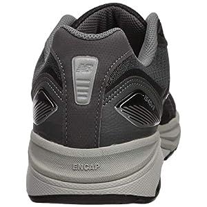New Balance Men's Made in US 1540 V3 Running Shoe, Black/Castlerock, 12 Wide