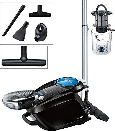 Bosch Relaxx'x ProSilence66 Bodenstaubsauger beutellos BGS5SMRT66, besonders leise, energieeffizient, für Allergiker geeignet, 700 Watt, schwarz