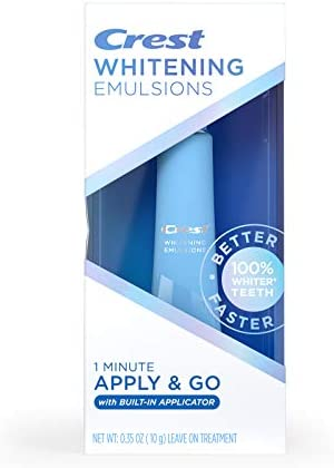 Crest Whitening Emulsions On the Go Leave On Teeth Whitening Pen 0 35 Oz 10 G 0 35 ounces product image