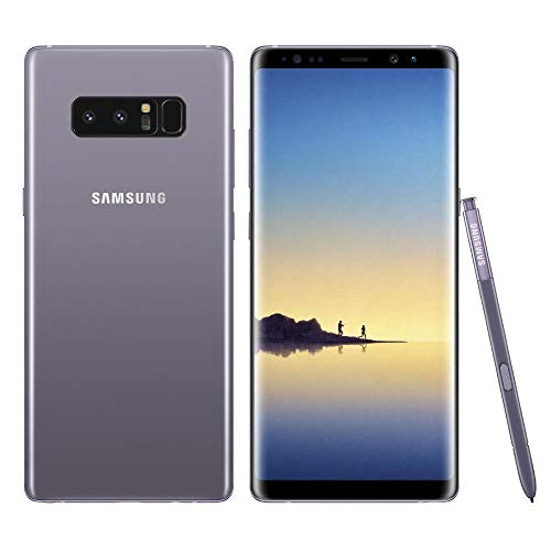 Samsung Galaxy Note 8 N950U 64GB Unlocked GSM 4G LTE Android Smartphone w/Dual 12 MegaPixel Camera (Renewed) (Orchid Grey)