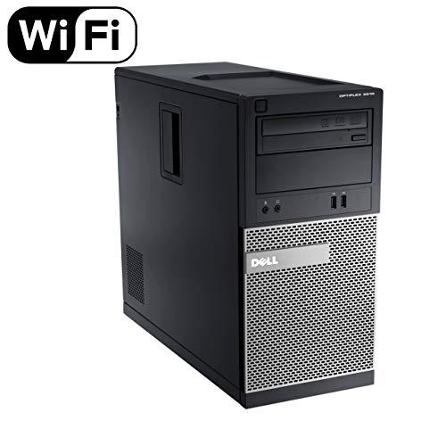 DELL Optiplex 3010 TW Tower High Performance Business Desktop Computer, Intel Quad Core i5-3470 up to 3.6GHz, 8GB RAM, 2TB HDD, DVD, USB 3.0, WiFi, Windows 10 Pro (Renewed)']