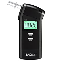 "#1 RATED BREATHALYZER BY WIRECUTTER - ""After 65 hours of research, which included getting intoxicated at a police station to test personal breathalyzers alongside law enforcement equipment, we're sure the BACtrack S80 is the most accurate, reliable, ..."