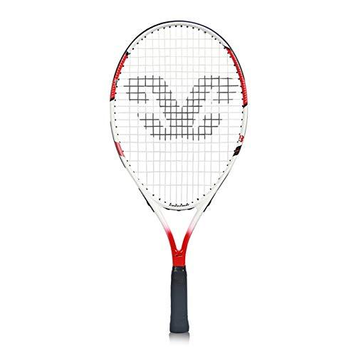 Mikelabo - Raqueta de tenis para niños, 25 unidades, color rojo