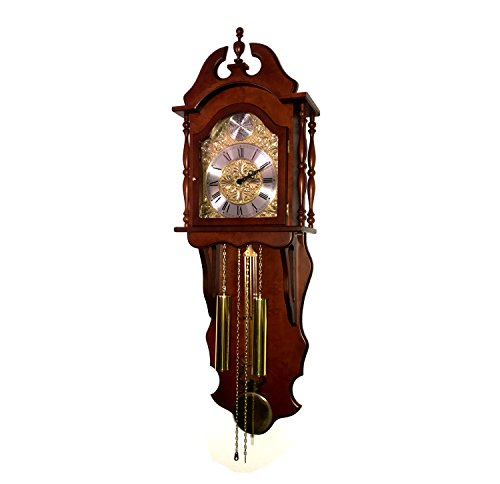 RELOJESDECO Reloj de Pared de péndulo 116cm, Reloj con péndulo, Reloj con carrillon, Madera Calidad.