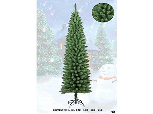 albero di natale slim 180 Albero di Natale Silvestre Slim 180cm 326 Rami MONORAMO Pieno E Compatto #AGN17