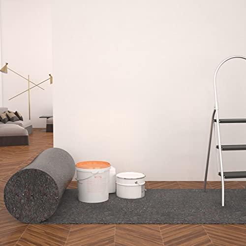 Fieltro Antideslizante de Pintor 50 m 280 g/m² grisCasa y jardín Productos del hogar Láminas y Franjas Protectoras para Suelos
