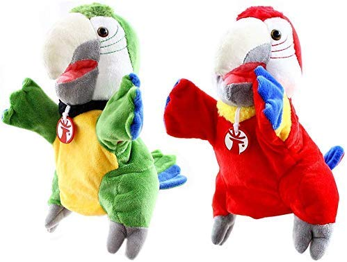Qin~xiao Marionetas Mano Animal Marionetas Mano 2pcs