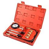 Cozywind Kits de Probador la Compresión para Motores, Herramientas Profesionales de Multifunción para Motores de Gasolina, para Coche, Motocicleta, etc.