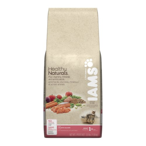 Iams Healthy Naturals Salmon Dry Cat Food