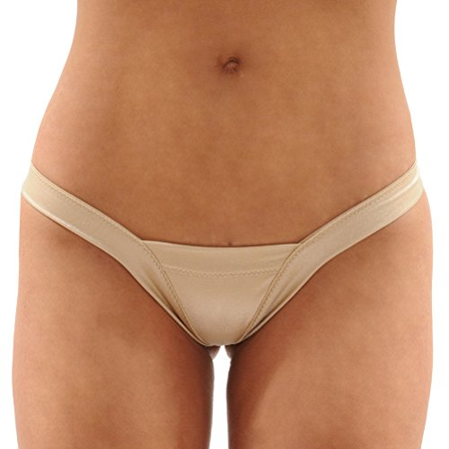 Summitfashions Dancers Delight Lycra Thong Pantie SeXy Panty 6 Color Options Color: Nude