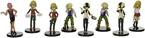 Tiger & Bunny - pack 8 figurines Half age characters Vol.1