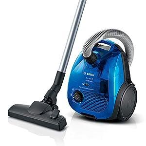 Bosch BGL2UK438 Serie | 2 – Aspirador dual con y sin bolsa, Con filtro higiénico, 550 W, color azul