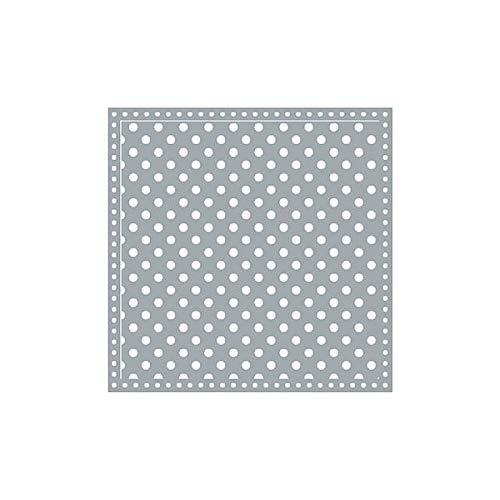 Krasilnikoff servetten Happy Dots grijs 33x33 cm 20 stuks papieren servet