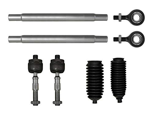 SuperATV Heavy Duty Tie Rod Kit for Polaris Ranger XP 700 (2009) - Complete Assembly with Inners/Outers