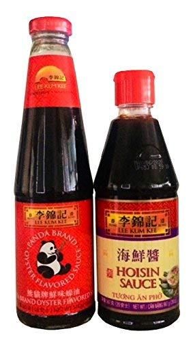 Lee Kum Kee Oyster Sauce and Lee Kum Kee Hoisin Sauce Bundle