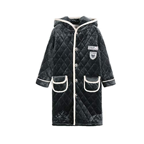 YWSZJ Children's Franel Franel Honeld Albornoz para niños Chicas Espeseñan túnicas de sueño Albornoces Bathdler Baby Infantil Playa Toallas Pijamas (Size : 100cm)