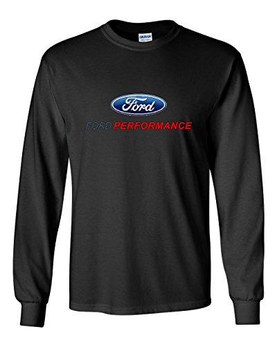 Ford Performance Long Sleeve T-Shirt Ford Mustang GT ST Racing Black XL