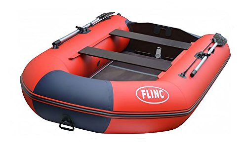 Find Discount Flinc Inflatable Boat 320KL (Red Blue)