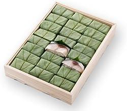 [ 高野街道名産 柿の葉寿司 ] 柿の葉すし(鯖)24個入