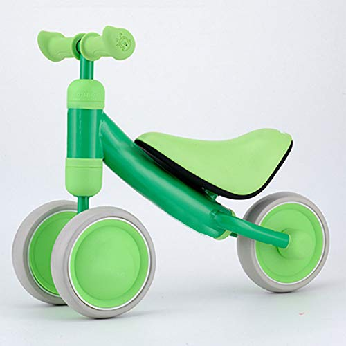 %41 OFF! Kids' Bicycles Baby Balancing car,Balanced Sliding car Baby Walker 1-3 Birthday Present Baby Riding Toys-Green 19inch