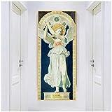FACAIA Citon Ingres- Lienzo decorativo de San Rafael (50 x 150 cm, sin marco)